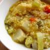 Zuppa di miglio e daikon