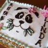 Torta Panda per il primo compleanno Vegan!