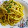 Spaghetti in salsa germogliata