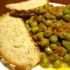 Piselli in salsa di senape